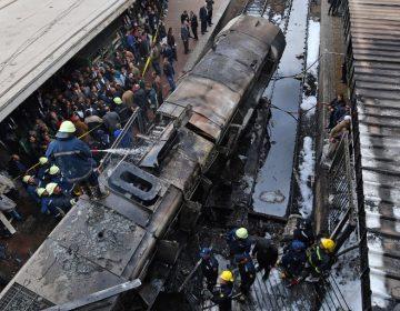 Mueren 20 personas por accidente en estación de ferrocarriles de El Cairo