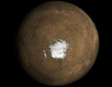 La actividad volcánica de Marte podría producir agua líquida, afirman científicos