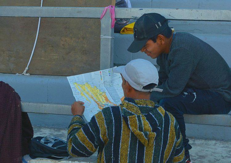 Reciben con platillos típicos a contingente migrante en San Luis Potosí