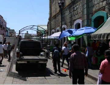 Gana calles comercio ambulante en capital oaxaqueña