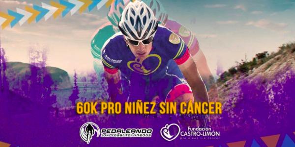 Castro-Limón invita a pedalear por niños con cáncer