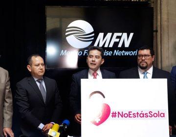 Lanzan #NoEstásSola para erradicar violencia de género