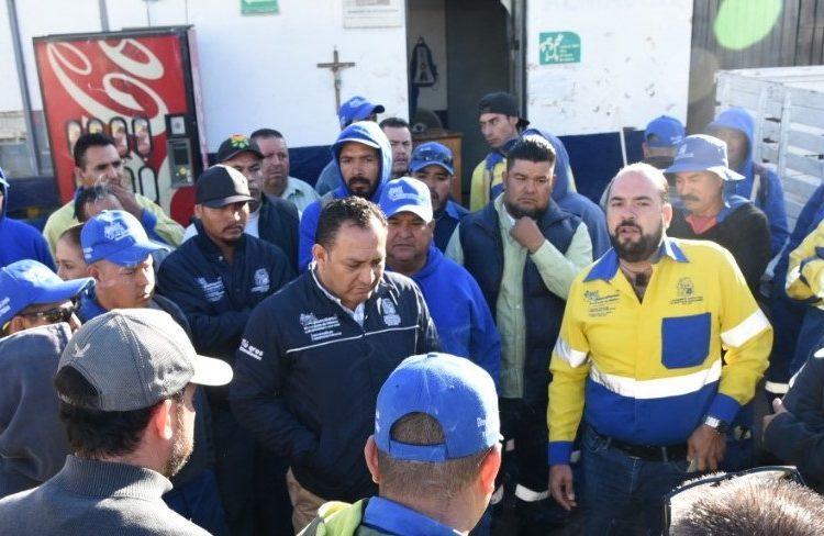 Garantiza municipio el servicio de aseo y limpia tras renuncia de funcionario