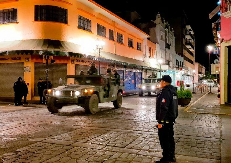 Sin Guardia Nacional, patrulla el Ejército capital de Oaxaca