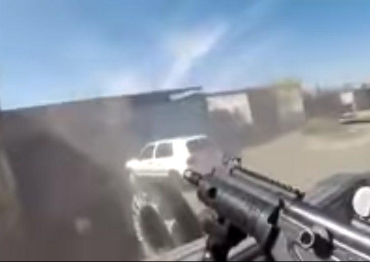 VIDEO | Balacean a vulcanizadora en Valle de Santiago, Guanajuato