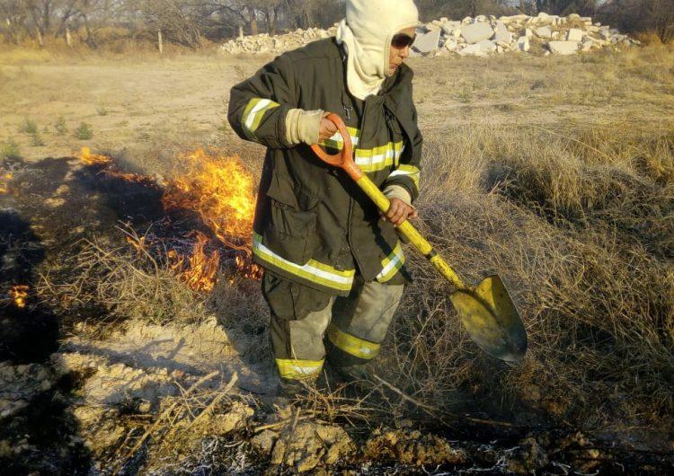 Se mantienen alerta bomberos de Jesús María ante posibles incendios y contingencias