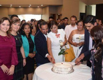 184 parejas pachuqueñas se casaron en el día del amor y la amistad