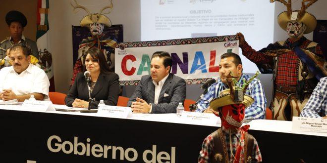 Participarán 60 municipios en desfile de carnaval en Pachuca