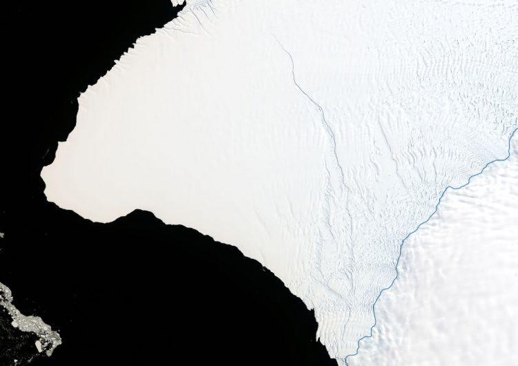 La Antártida se agrieta y pronto se desprenderá una parte del doble de tamaño de NY, dice la NASA