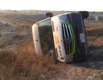 Registra Tuzobús en tres años más de 780 accidentes