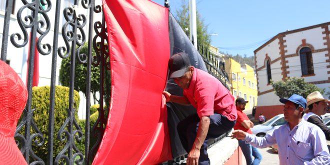 Sindicato estalla huelga en Pachuca; paran 58 oficinas