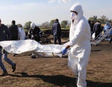 Suman 125 muertos por explosión en Tlahuelilpan