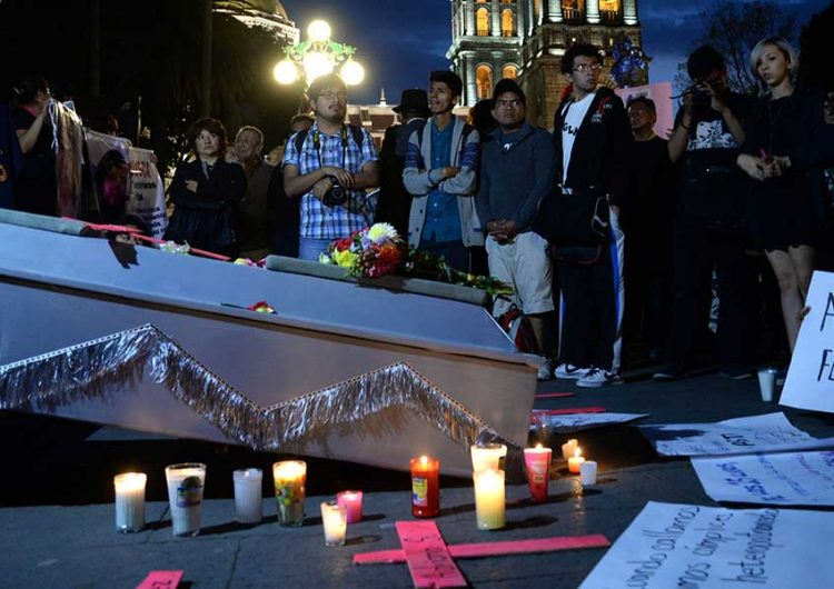 En Puebla se registraron 38 feminicidos durante 2018