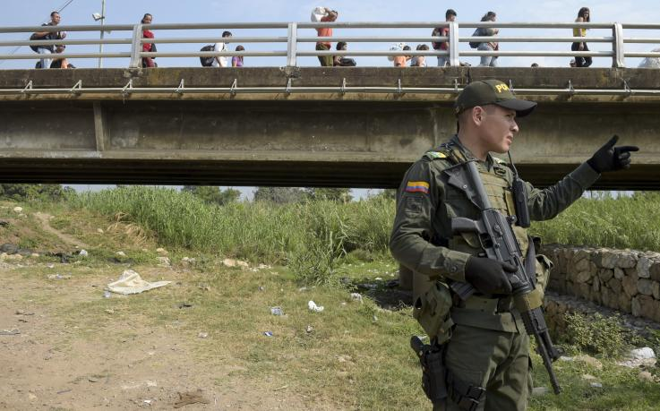 """Trump no descarta mandar tropas estadounidenses a Colombia para """"enfrentarse"""" a Venezuela"""