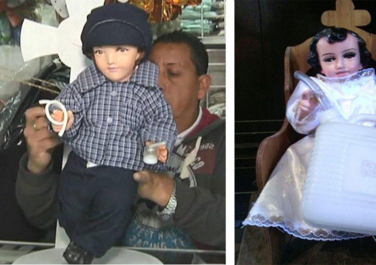 """Es el """"Santo Niño del Huachicol"""" de las imágenes más demandadas por poblanos"""