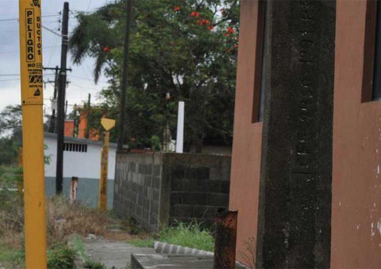 En Puebla capital hay casas sobre ductos de Pemex