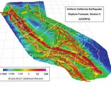 Un terremoto gigante sacudirá la falla de San Andrés en el 2045, según cálculos científicos