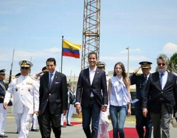 Guaidó convoca a concentraciones el lunes; emprende el regreso a Venezuela desde Ecuador