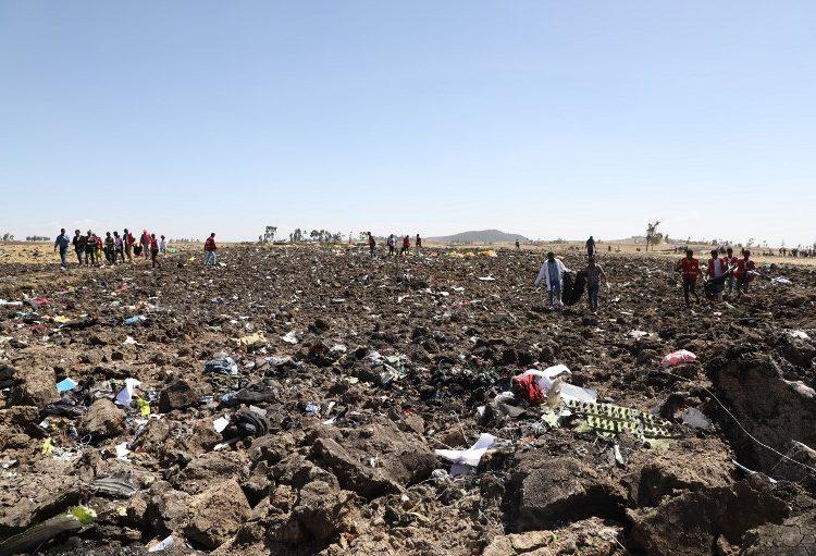 Lo que se sabe del avión de Ethiopian Airlines que se estrelló con 157 personas a bordo