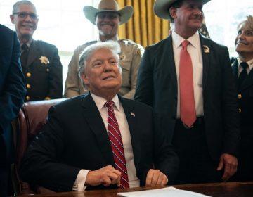 Trump utiliza veto presidencial para financiar su muro con México
