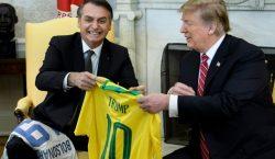 """Trump y Bolsonaro reunidos en Washington; discuten """"opciones"""" para resolver…"""