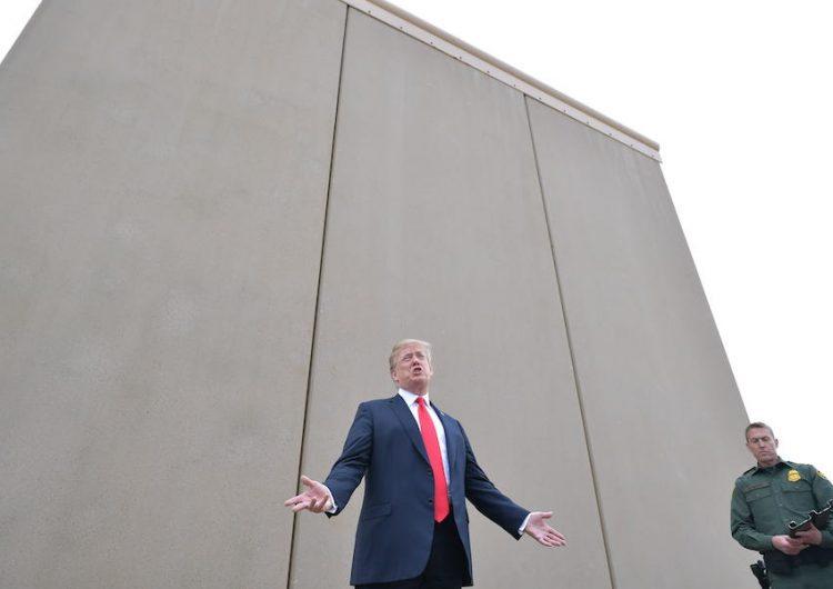 El Pentágono autoriza mil mdd para la construcción del muro fronterizo