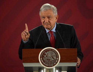 López Obrador descarta contestar amenazas de Trump tras hacer consulta en un evento oficial