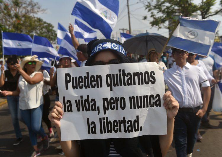 Nicaragua: los periodistas independientes son presos políticos