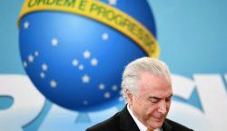 Juez ordena liberar al expresidente brasileño Michel Temer, acusado de…
