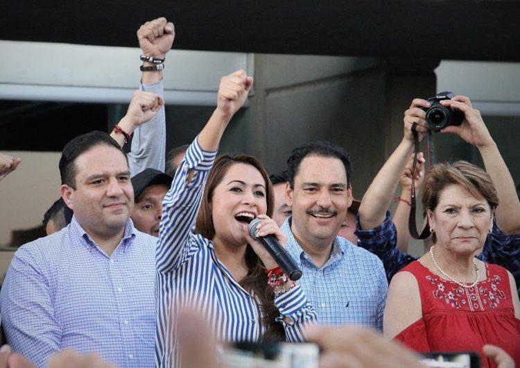 Tere Jiménez, va por la reelección en el PAN