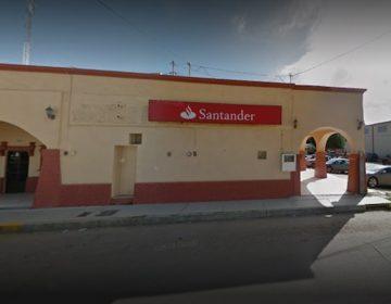 Santander cierra en Gómez Farías
