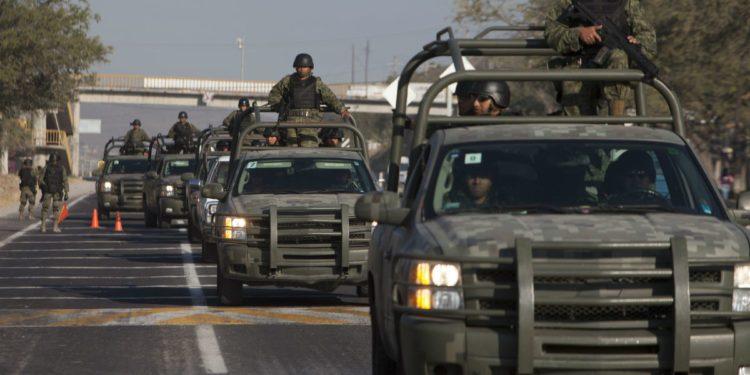 ¿En qué municipios estarán los 1600 soldados que llegaron a Guanajuato?