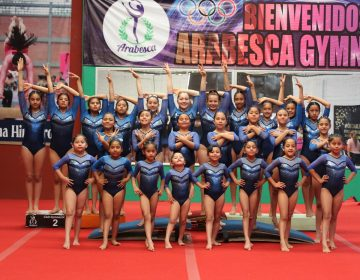 En ascenso nivel de gimnastas oaxaqueñas