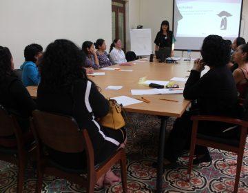 Realizan taller en favor de la información sobre salud sexual y reproductiva