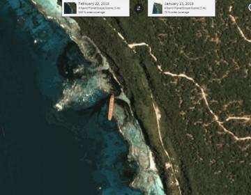 Barco derrama 80 toneladas de petróleo en patrimonio mundial de la humanidad