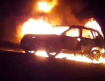 Guanajuato amanece en llamas. Pobladores impiden el paso a Fuerzas Armadas con autos incendiados