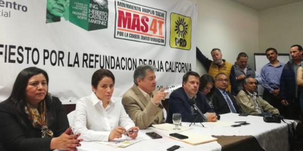 Martínez Veloz buscará la gubernatura de BC con el PRD