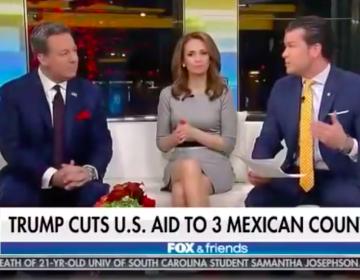 """El programa Fox & Friends llama """"países mexicanos"""" a El Salvador, Honduras y Guatemala"""