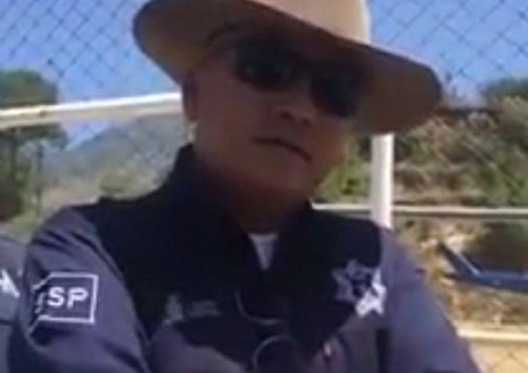 Con todo y helicóptero, retienen pobladores de Juquila a comisionado de la Policía Estatal