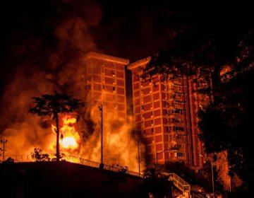 """""""Veía las llamaradas"""": En medio del apagón masivo, explota estación eléctrica en Venezuela"""