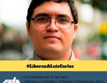 Confirman detención de Luis Carlos, periodista venezolano; autoridades revisan su casa