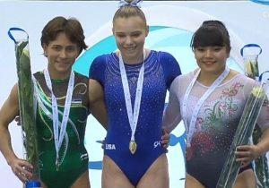 La gimnasta mexicana Alexa Moreno gana el bronce en la Copa del Mundo