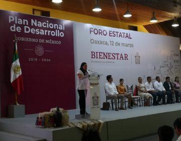"""Celebran """"Foro Bienestar"""" para la construcción del Plan Nacional de Desarrollo"""