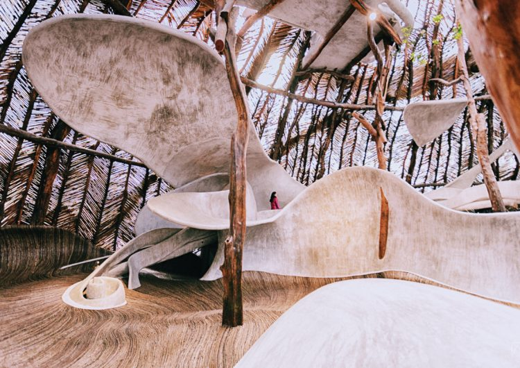 Para reconectar con la naturaleza: Un  hotel construido entre árboles