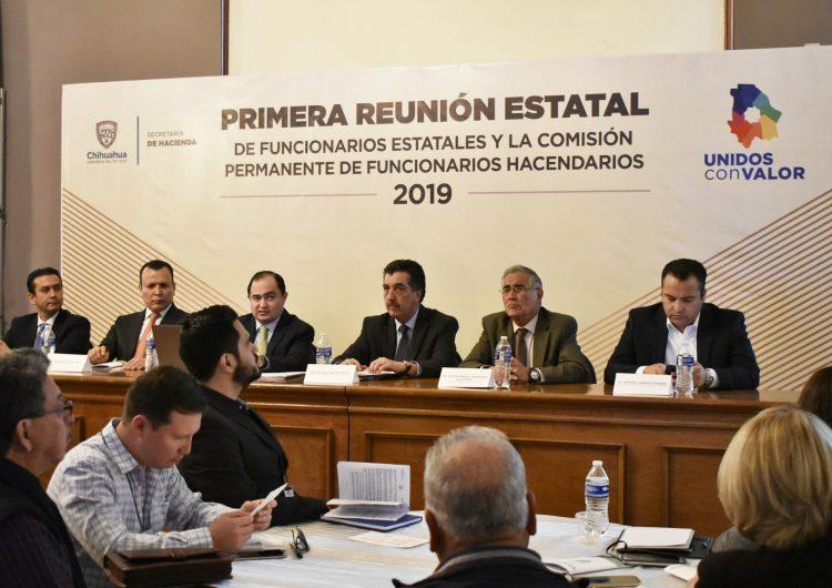 Instauran Comisión Permanente de Funcionarios Hacendarios