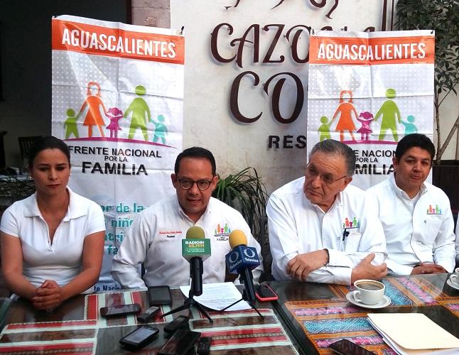 Condiciona Frente por la Familia apoyo a candidatos con iniciativa antiaborto