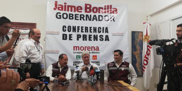 Estimamos un endeudamiento de 100 mil mdp en BC: Jaime Bonilla