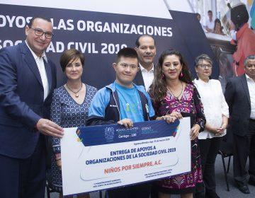 Reciben ONG's 35 mdp de Gobierno de Aguascalientes
