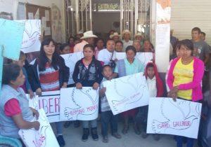 Ejecutan nueva orden de aprehensión contra indígenas de Eloxochitlán