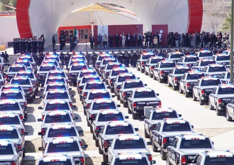 Adquiere Municipio 400 patrullas para reforzar vigilancia